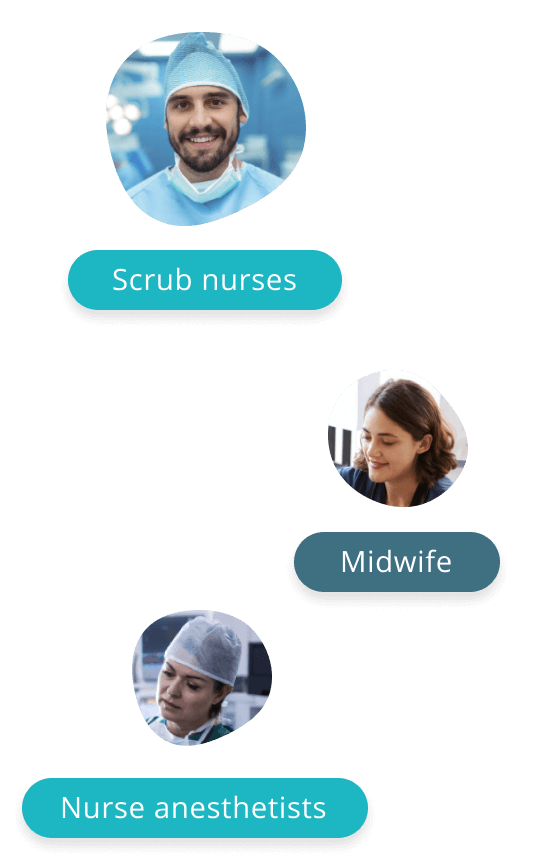 Visual with medical avatars
